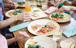 Idées plats entre amis - Pizza à emporter