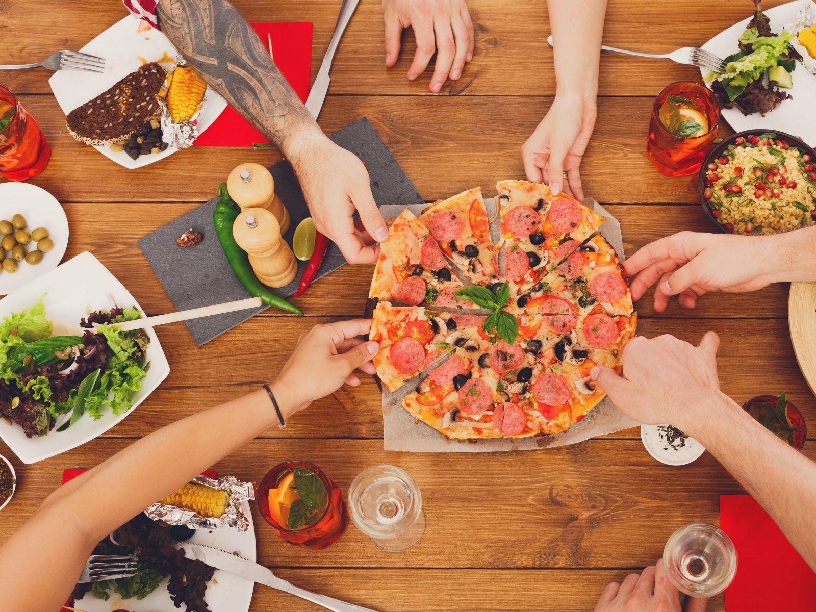Pizza party réussie - Vincenzo Pizza