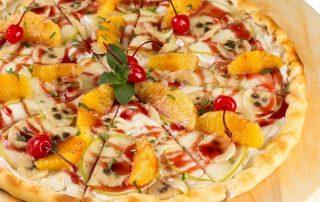 Pizza sucrée - pizzeria 79